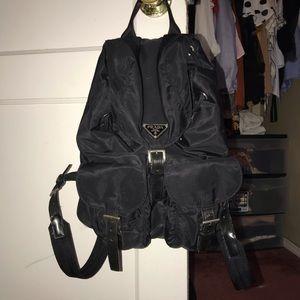 PRADA authentic nylon backpack